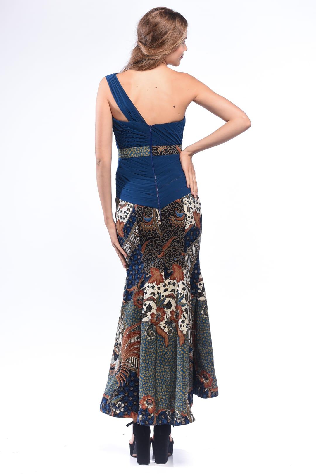 Navy Blue Batik