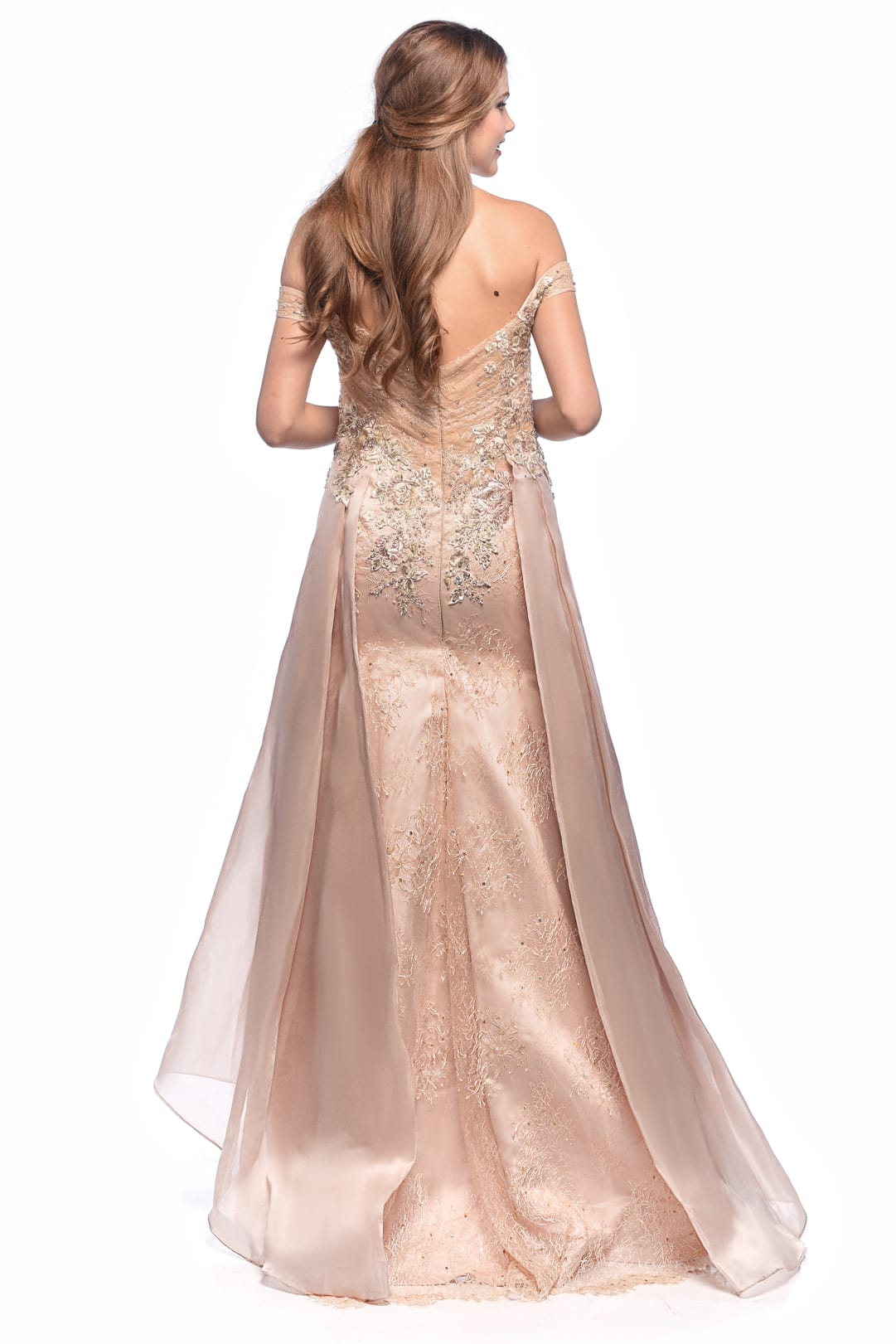 Bare Gold Gown