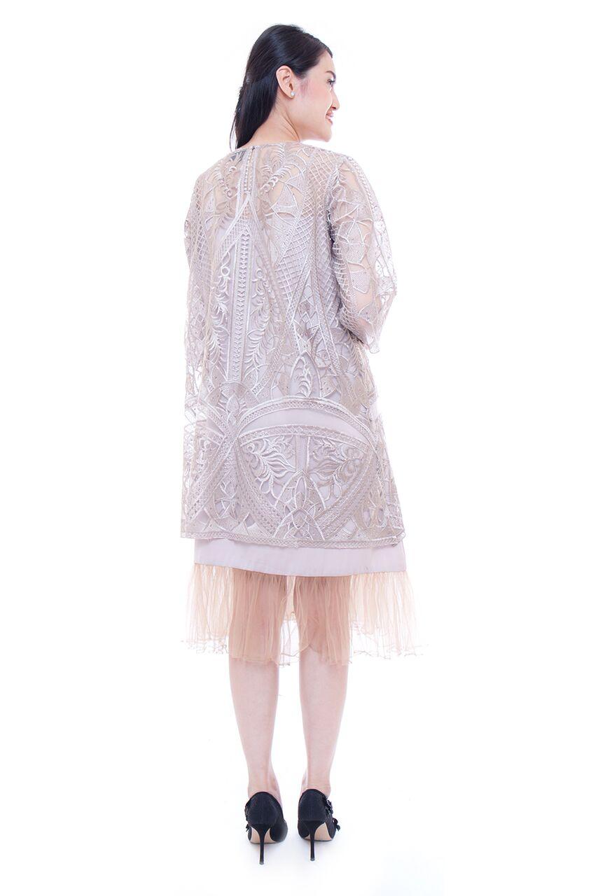 daisy dress (light brown)