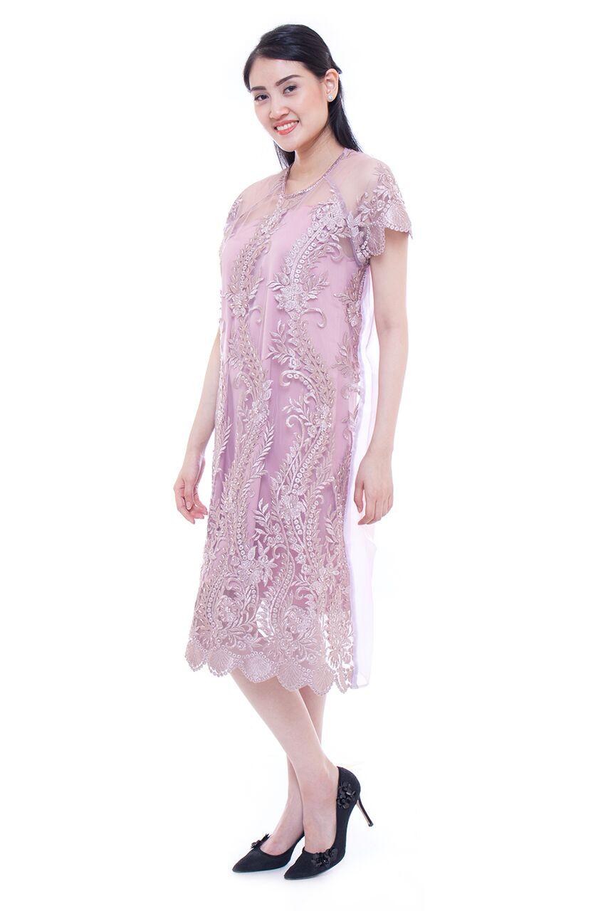 Devisha dress (dusty pink)