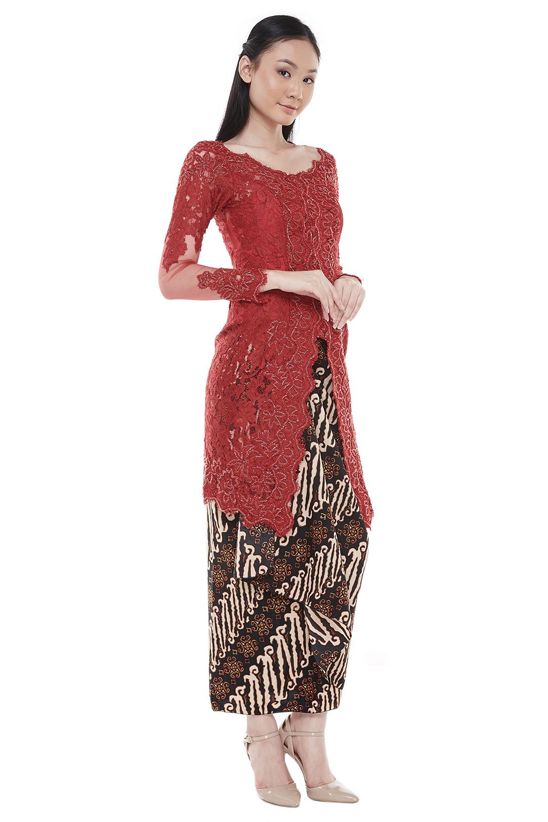 Aura Red Kebaya