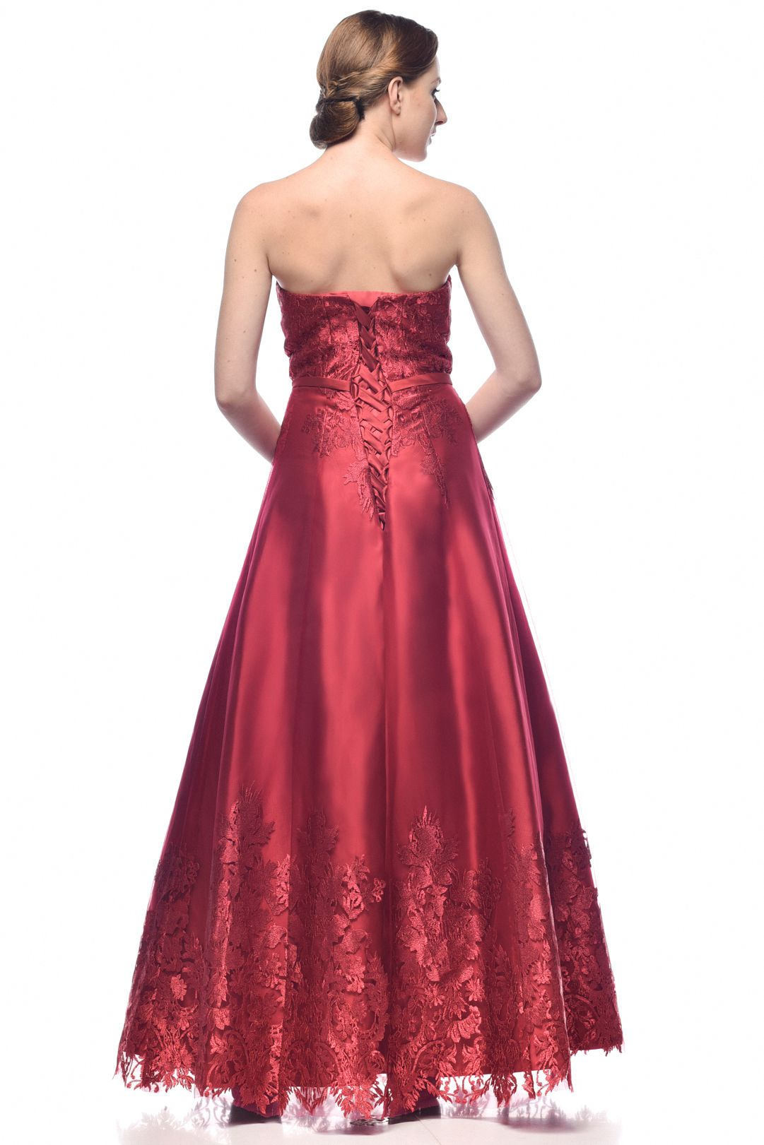 Regal Red Dress