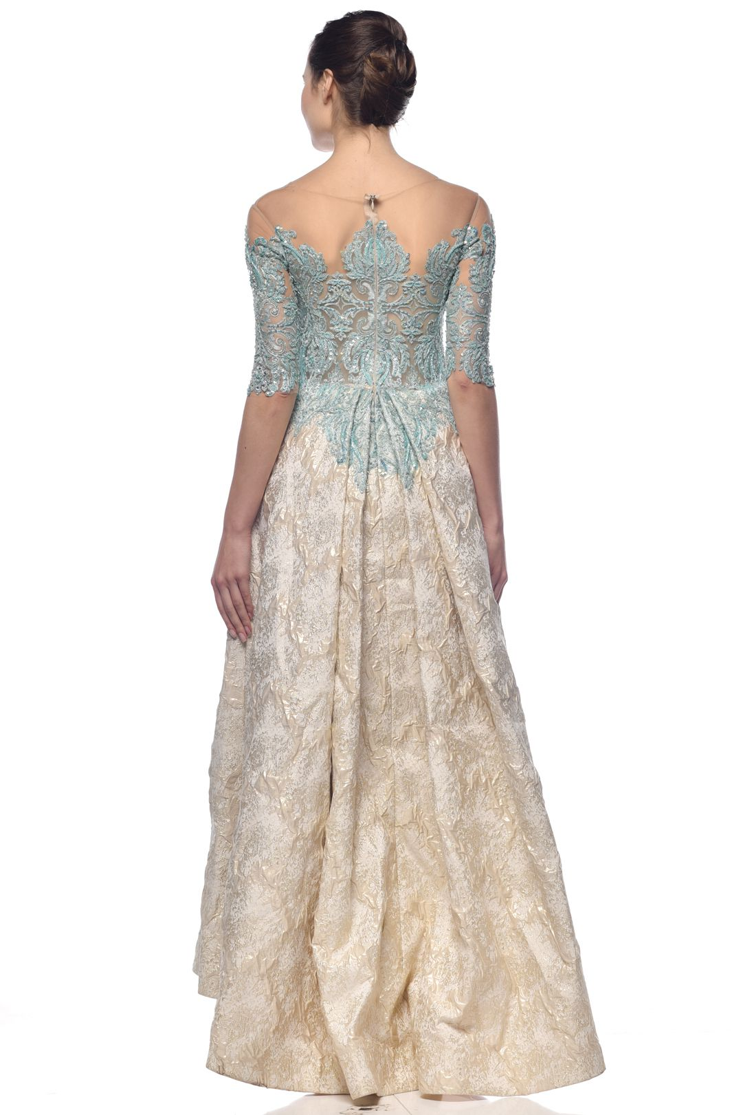 Majestic Blue Gown