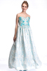 Rose Blue Gown